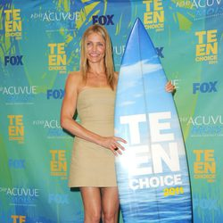 Cameron Diaz premiada en los Teen Choice Awards 2011