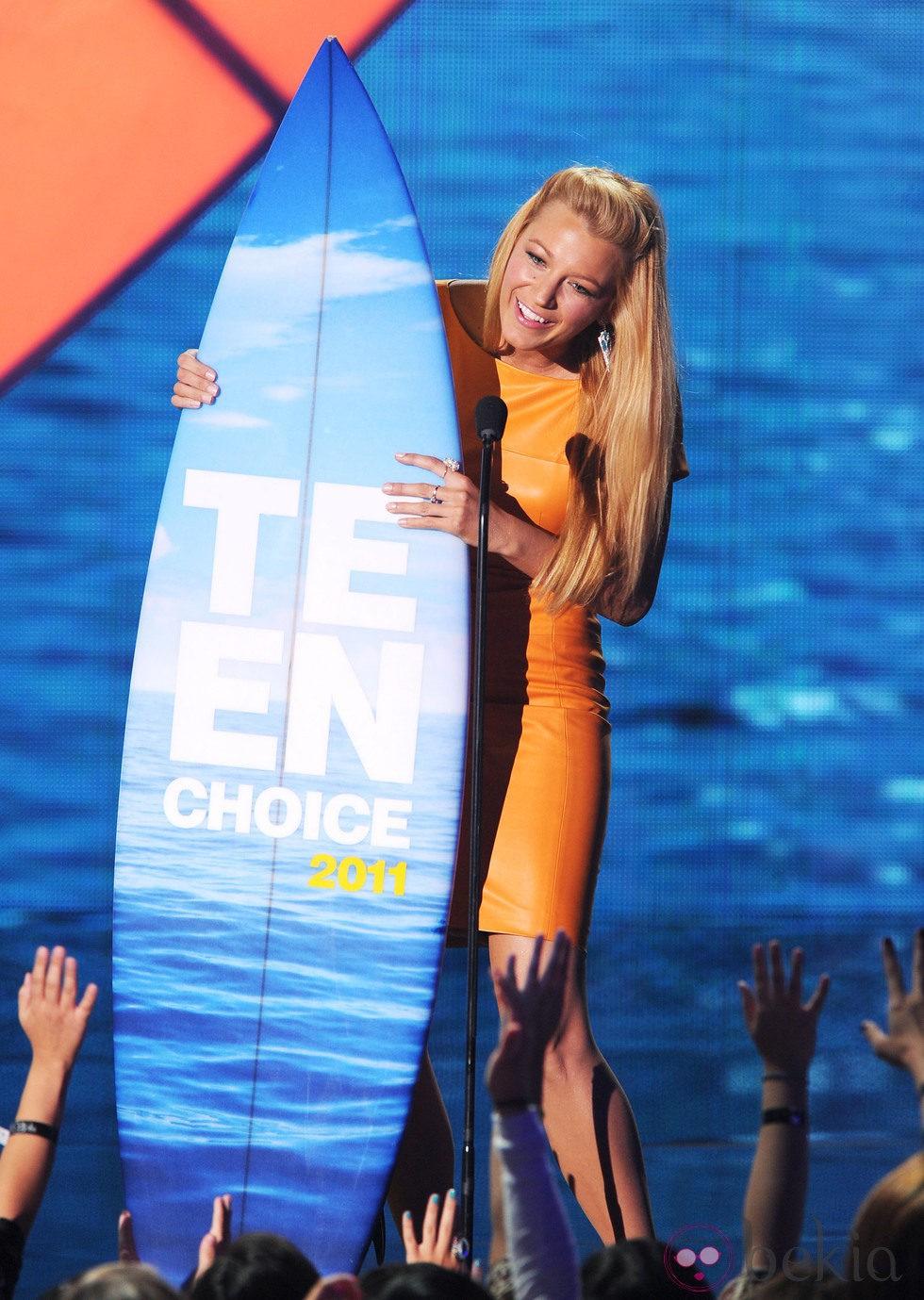 Blake Lively en la gala de los Teen Choice Awards 2011