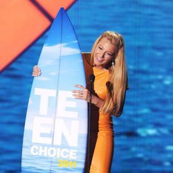 Blake Lively en la gala de los Teen Choice Awards 2011
