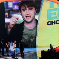 Daniel Radcliffe interviene en un vídeo en los Teen Choice Awards 2011