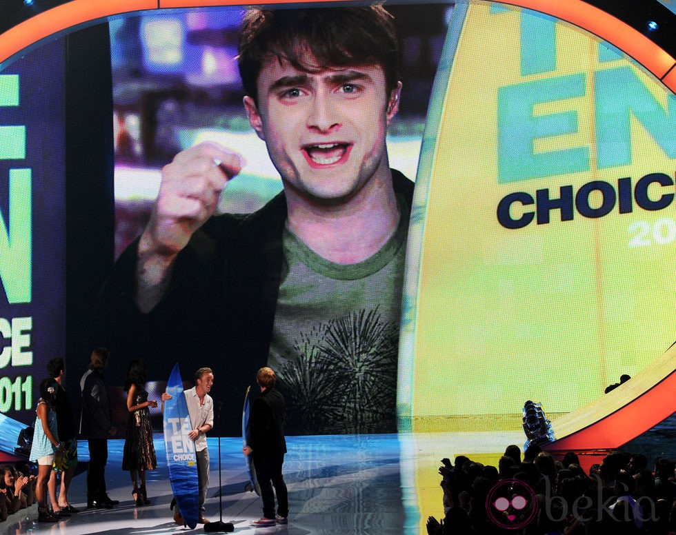 Daniel Radcliffe interviene en un vídeo en los Teen Choice Awards 2011