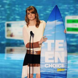 Emma Stone en los Teen Choice Awards 2011