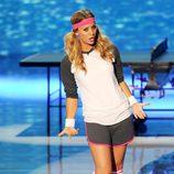 Kaley Cuoco durante la ceremonia de entrega de los Teen Choice Awards 2011
