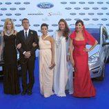 Melanie Griffith, Antonio Banderas, Eva Longoria y María Bravo en la Gala Starlite 2011