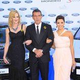 Melanie Griffith, Antonio Banderas y Eva Longoria en la Gala Starlite 2011
