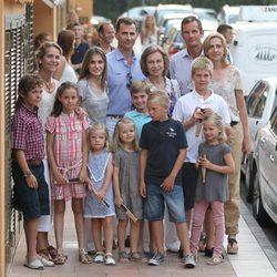 La Familia Real en Puerto Portals