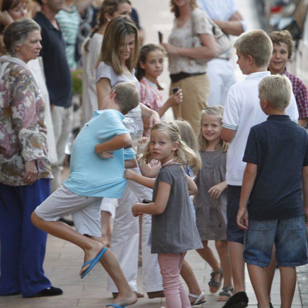 Recta final de las vacaciones de la Familia Real en Mallorca 2011