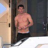 Leo Messi presume de torso desnudo en Ibiza
