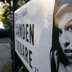 Placa de Camden en homenaje a Amy Winehouse