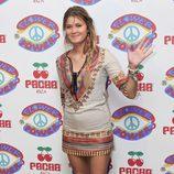Carla Pereyra en la fiesta 'Flower Power' en Ibiza