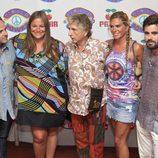 Caritina Goyanes en la fiesta 'Flower Power' en Ibiza