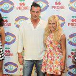 Luján Argüelles en la fiesta 'Flower Power' en Ibiza