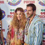 Borja Thyssen y Blanca Cuesta en la fiesta 'Flower Power' en Ibiza