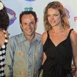 Natalia Vodianova en la fiesta 'Flower Power' en Ibiza