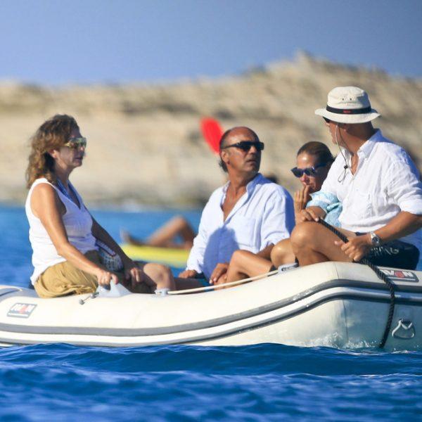 Ana Rosa Quintana de vacaciones en Ibiza con su familia