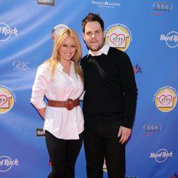 Hilary Duff y Mike Comrie antes de su boda