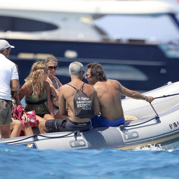 Ana Obregón de vacaciones en Formentera