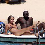 Heidi Klum y Seal presumen de cuerpo en Porto Cervo