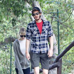 Emma Stone y Andrew Garfield hacen deporte en California