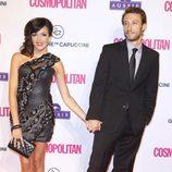 Raquel del Rosario y su novio Pedro Castro en los Premios Cosmopolitan Fun Fearless Female 2012