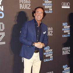 José Manuel 'Pipi' Estrada en el estreno de la obra de teatro 'No estoy muerto, estoy en callao'