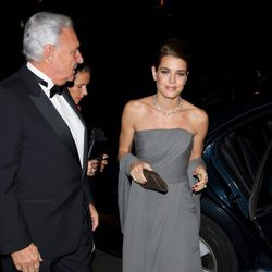 Carlota Casiraghi en la cena de gala de la exposición 'El arte de Cartier'