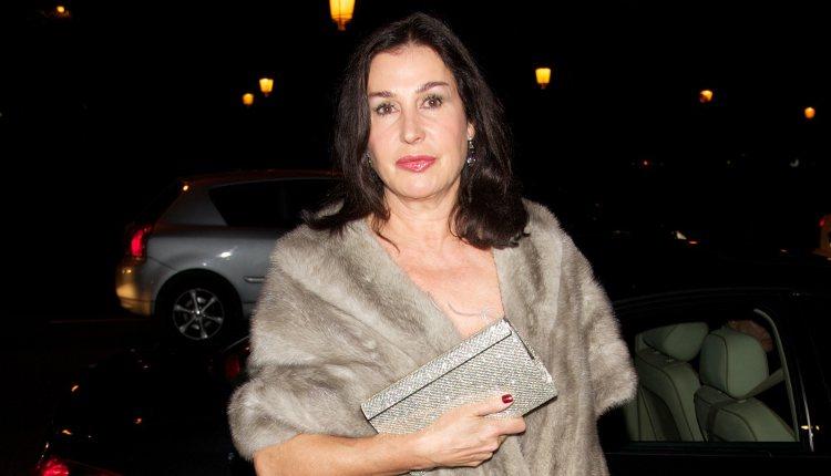 Carmen Martínez-Bordiú en la cena de gala de la exposición 'El arte de Cartier'