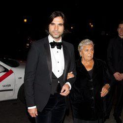 Javier Conde en la cena de gala de la exposición 'El arte de Cartier'