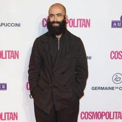 Carlos Díez en los Premios Cosmopolitan Fun Fearless Female 2012