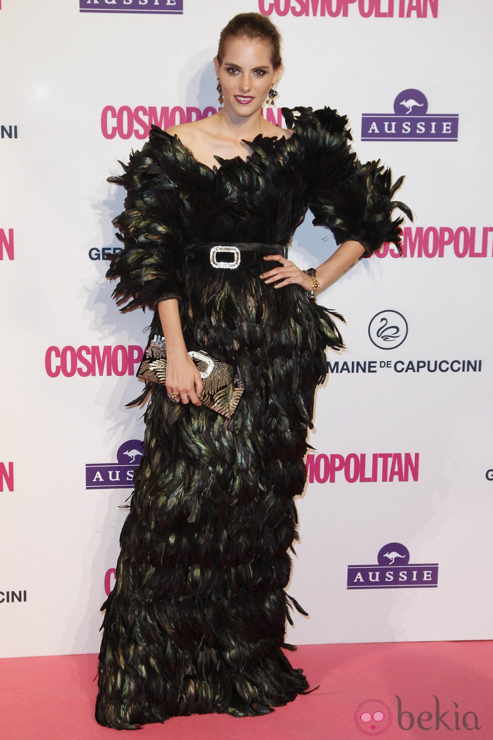 Marina Jamieson en los Premios Cosmopolitan Fun Fearless Female 2012
