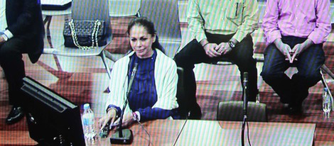 Isabel Pantoja en su declaración por el Caso Malaya