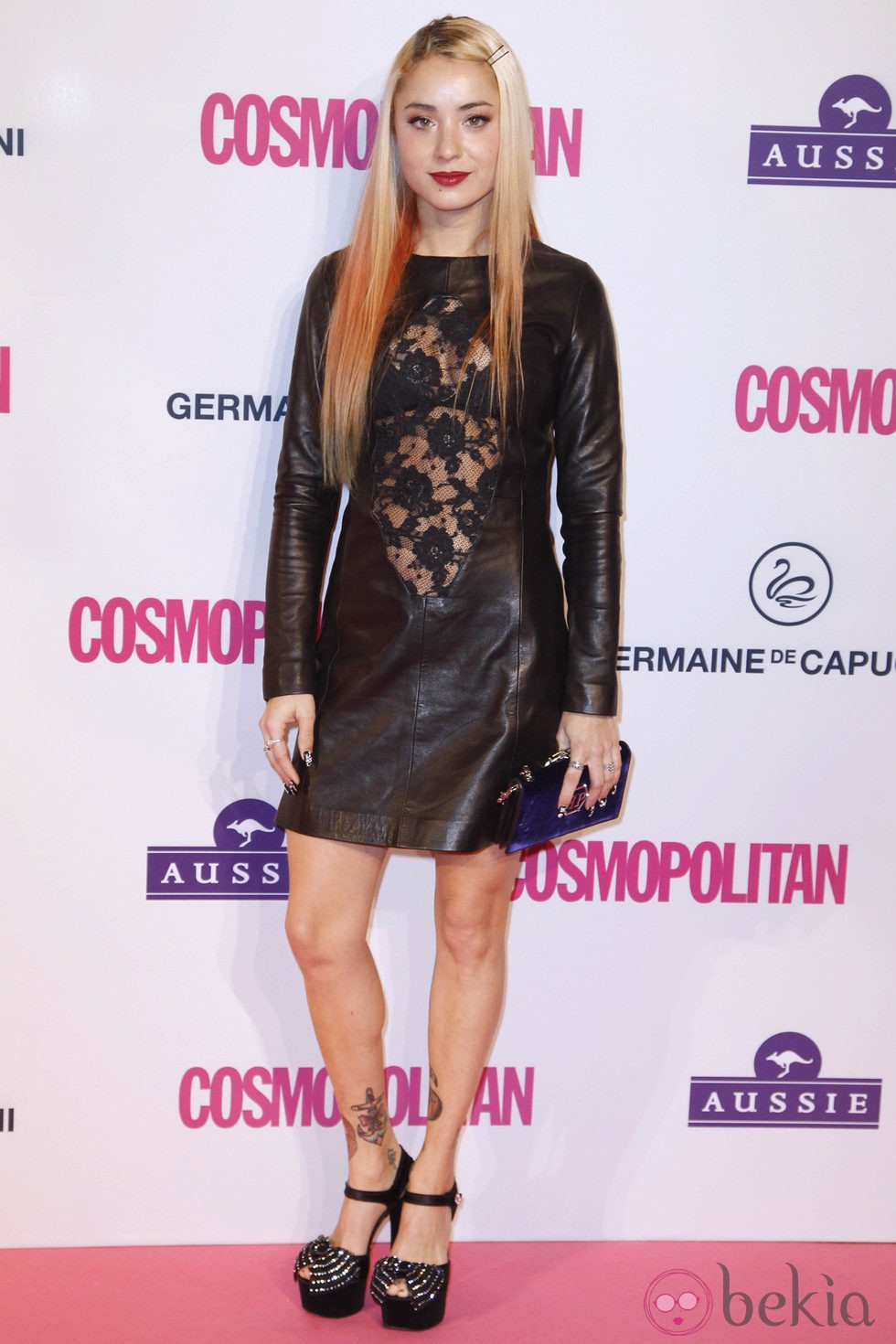 Miranda Makaroff en los Premios Cosmopolitan Fun Fearless Female 2012