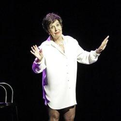 Concha Velasco en la representación de 'Yo lo que quiero es bailar'