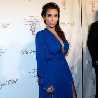 Kim Kardashian en la gala solidaria Angel Ball 2012