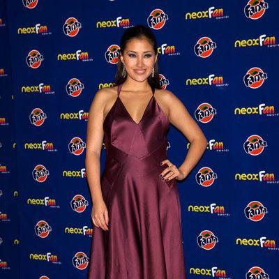 Giselle Calderón en los Neox Fan Awards 2012