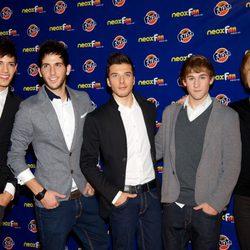 Auryn en los Neox Fan Awards 2012