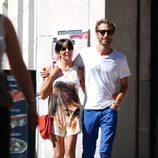 Raquel del Rosario y su novio Pedro Castro juntos de paseo
