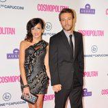 Raquel del Rosario y Pedro Castro de la mano en los Premios Cosmopolitan Fun Fearless Female 2012