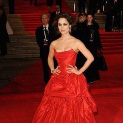 Bérénice Marlohe en el estreno de 'Skyfall' en Londres