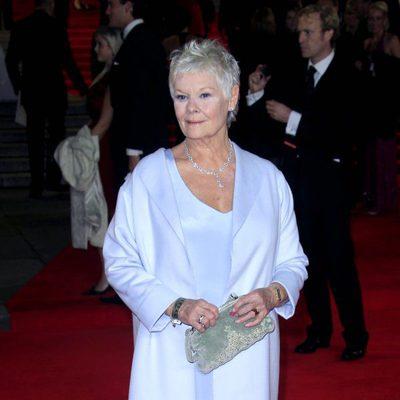Judi Dench en el estreno de 'Skyfall' en Londres