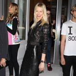 Karolina Kurkova en la fiesta de inauguración de una tienda de Versace en Nueva York