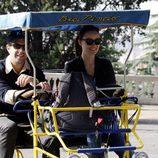 Olivia Wilde y su novio Jason Sudeikis paseando por Roma