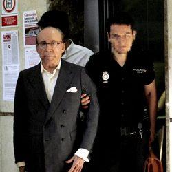 José María Ruiz-Mateos asistiendo a un juicio en Palma de Mallorca