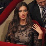 Sara Carbonero en la ceremonia de los Premios Príncipe de Asturias 2012