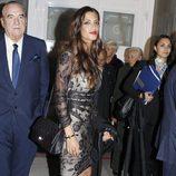 Sara Carbonero tras la entrega de los Premios Príncipe de Asturias 2012