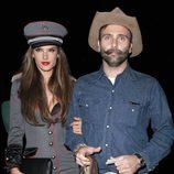 Alessandra Ambrosio con Jamie Mazur en la fiesta de Halloween 2012