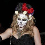Hilary Duff se disfrazada de cadáver para una fiesta de Halloween 2012