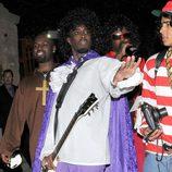 El rapero P.Diddy se disfraza para la fiesta de Halloween 2012