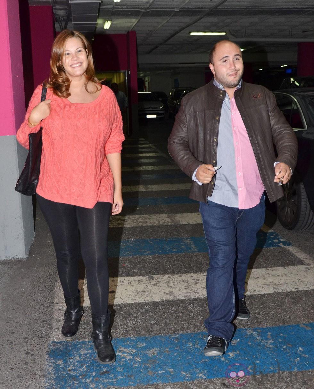 Jessica Bueno y Kiko Rivera en Sevilla semanas antes de ser padres