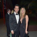 Justin Theroux y Jennifer Aniston en la Gala Lacma 2012